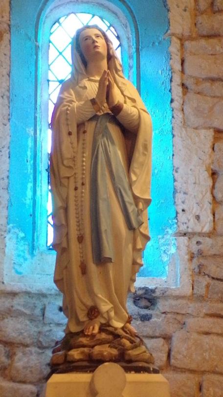 Réparsac - L'église Saint-Pierre - Notre Dame de Lourdes (10 avril 2018)