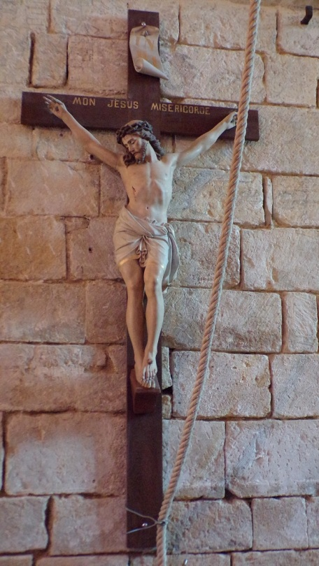 Réparsac - L'église Saint-Pierre - Le Crucifix (10 avril 2018)