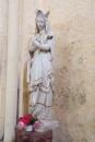 Lignières-Sonneville - L'église Notre-Dame - Vierge Marie (1 novembre 2017)