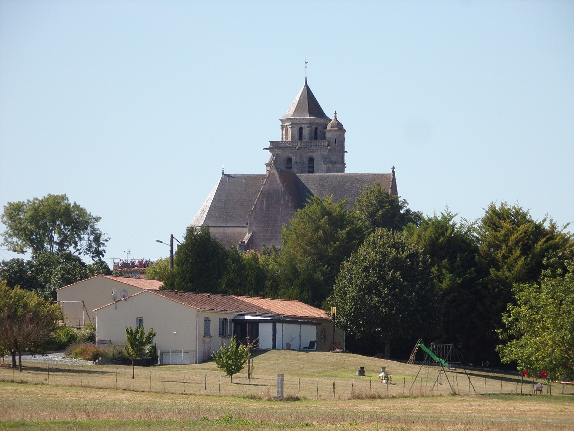 Lonzac - L'église Notre-Dame (24 août 2019)