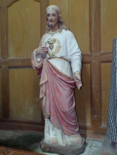 Lonzac - L'église Notre-Dame - Sacré Coeur de Jésus (8 juillet 2018)