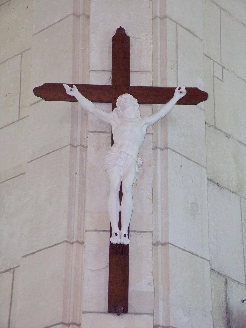 Lonzac - L'église Notre-Dame - Le Crucifix (8 juillet 2018)