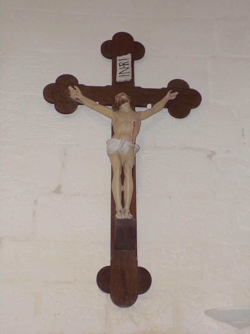 Louzac - L'église Saint-Martin - Le Crucifix (6 juin 2018)