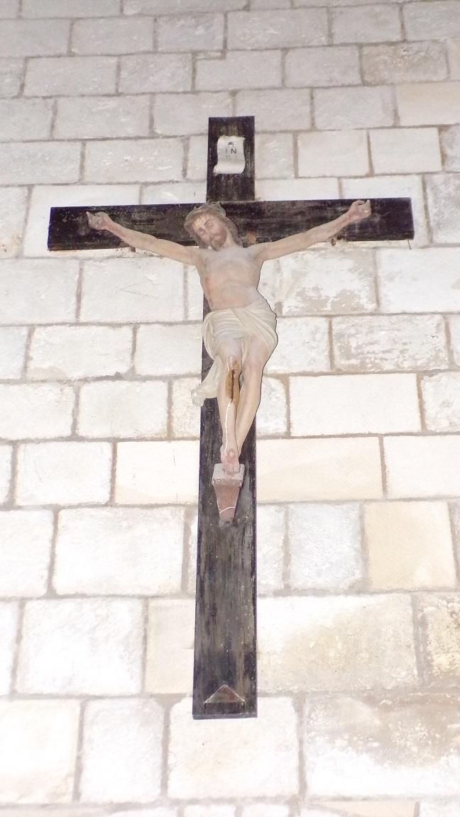 Macqueville - L'église Saint-Etienne - Le Crucifix (27 avril 2018)