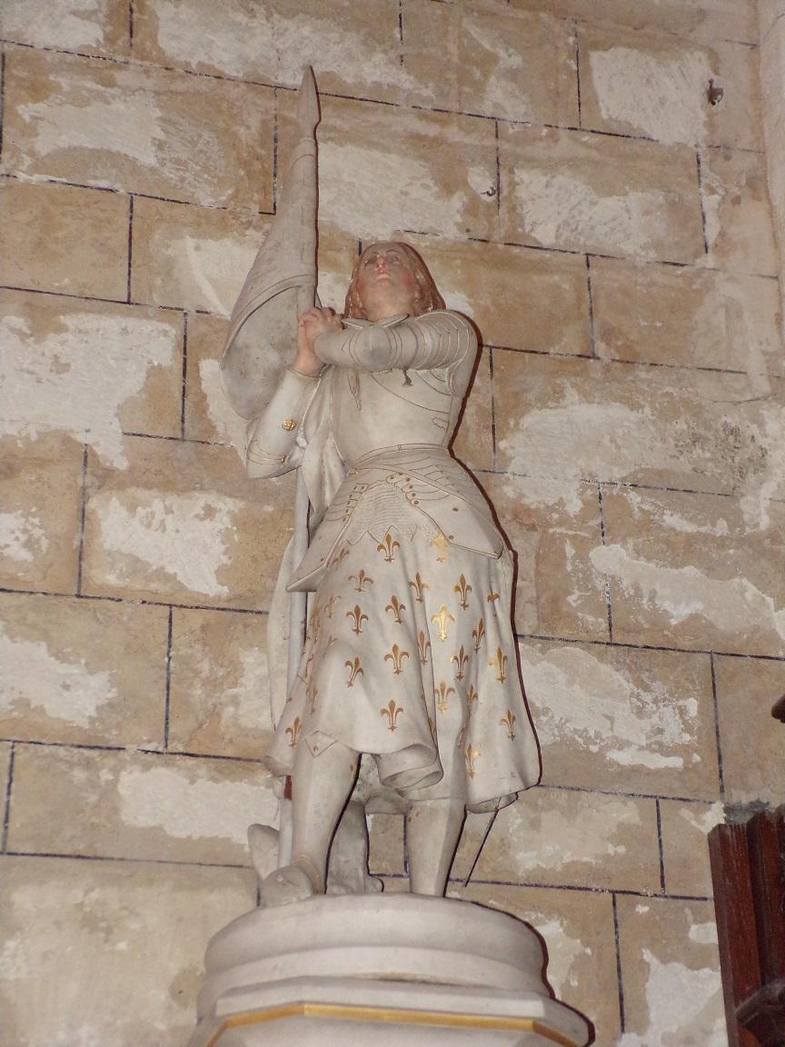 Mareuil - L'église Notre-Dame - Sainte Jeanne d'Arc (21 août 2018)