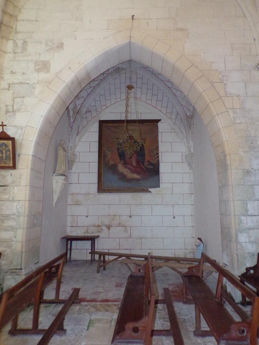 Mareuil - L'église Notre-Dame - Chapelle 'Sainte Thérèse de Lisieux' (21 août 2018)