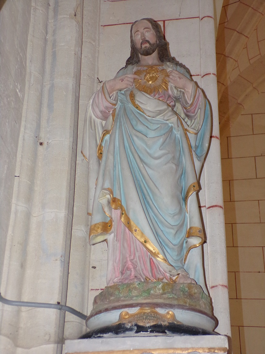 Mareuil - L'église Notre-Dame - Sacré Coeur de Jésus (21 août 2018)