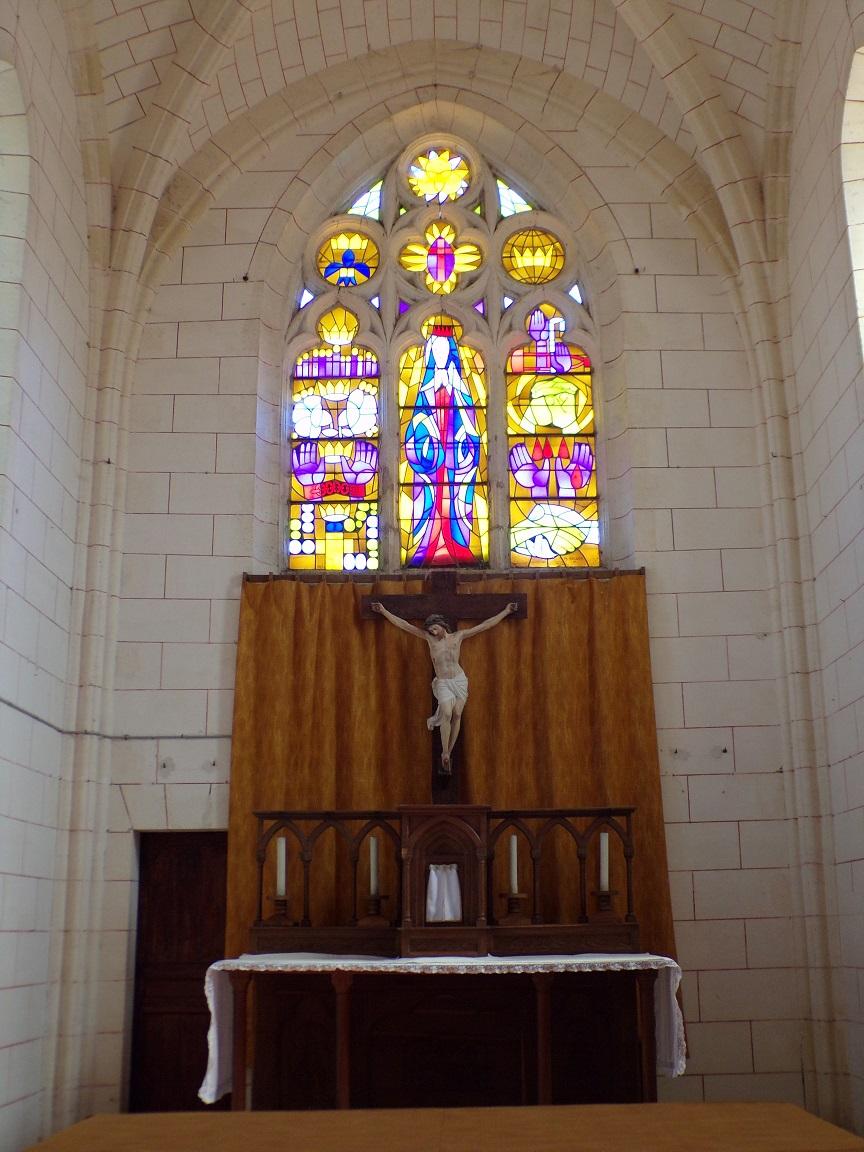 Mareuil - L'église Notre-Dame - L'abside (21 août 2018)