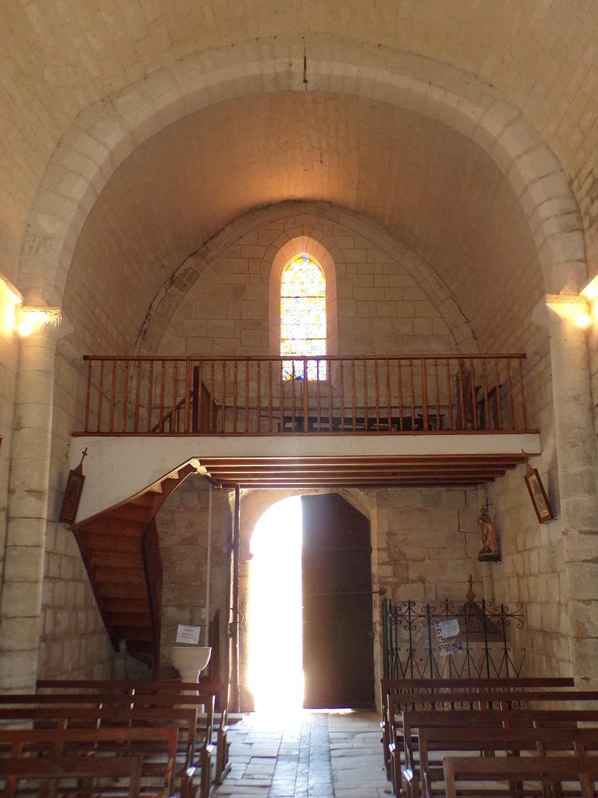 Mareuil - L'église Notre-Dame - Vue de l'autel (21 août 2018)