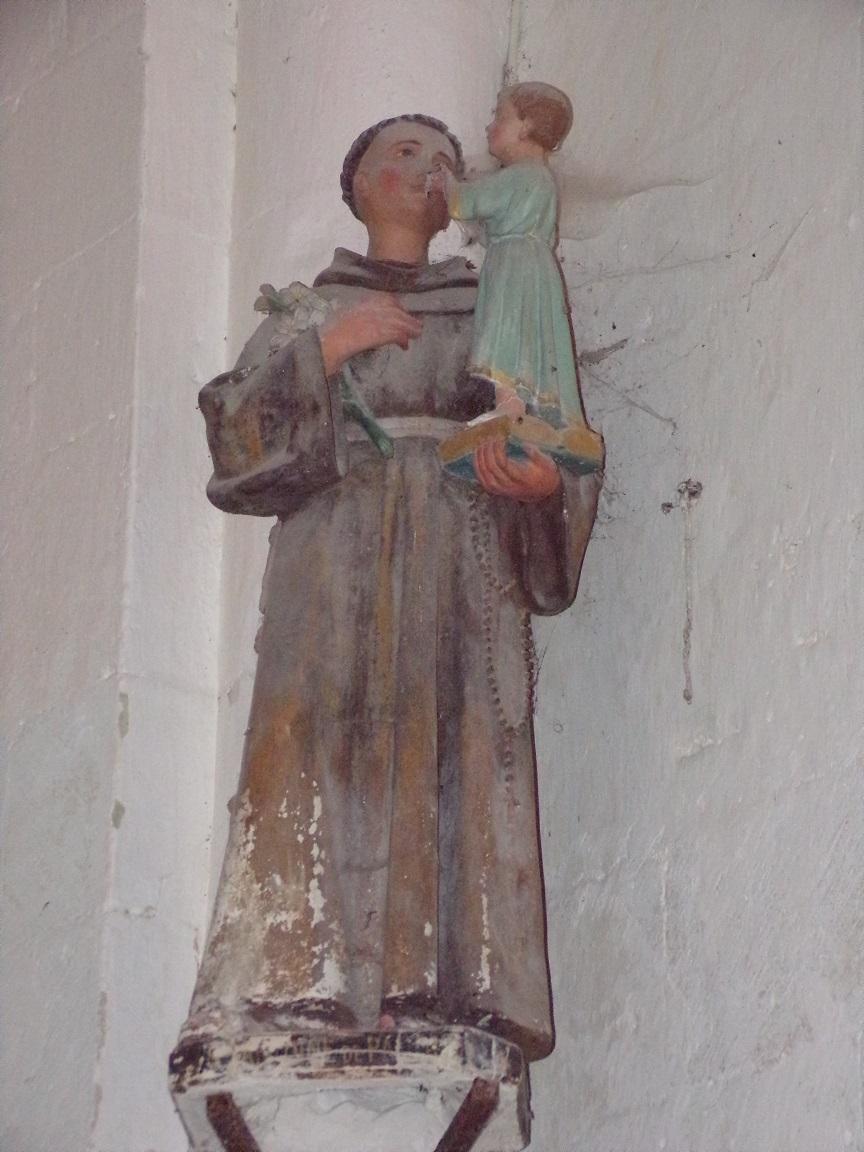 Matha - L'église Saint-Pierre de Marestay - Saint Antoine de Padoue (13 août 2018)