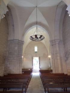 Merpins - L'église Saint-Rémy - Vue de l'autel (28 mai 2018)