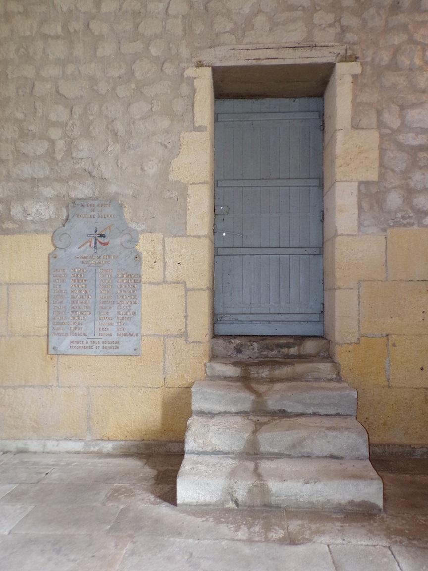 Merpins - L'église Saint-Rémy (28 mai 2018)