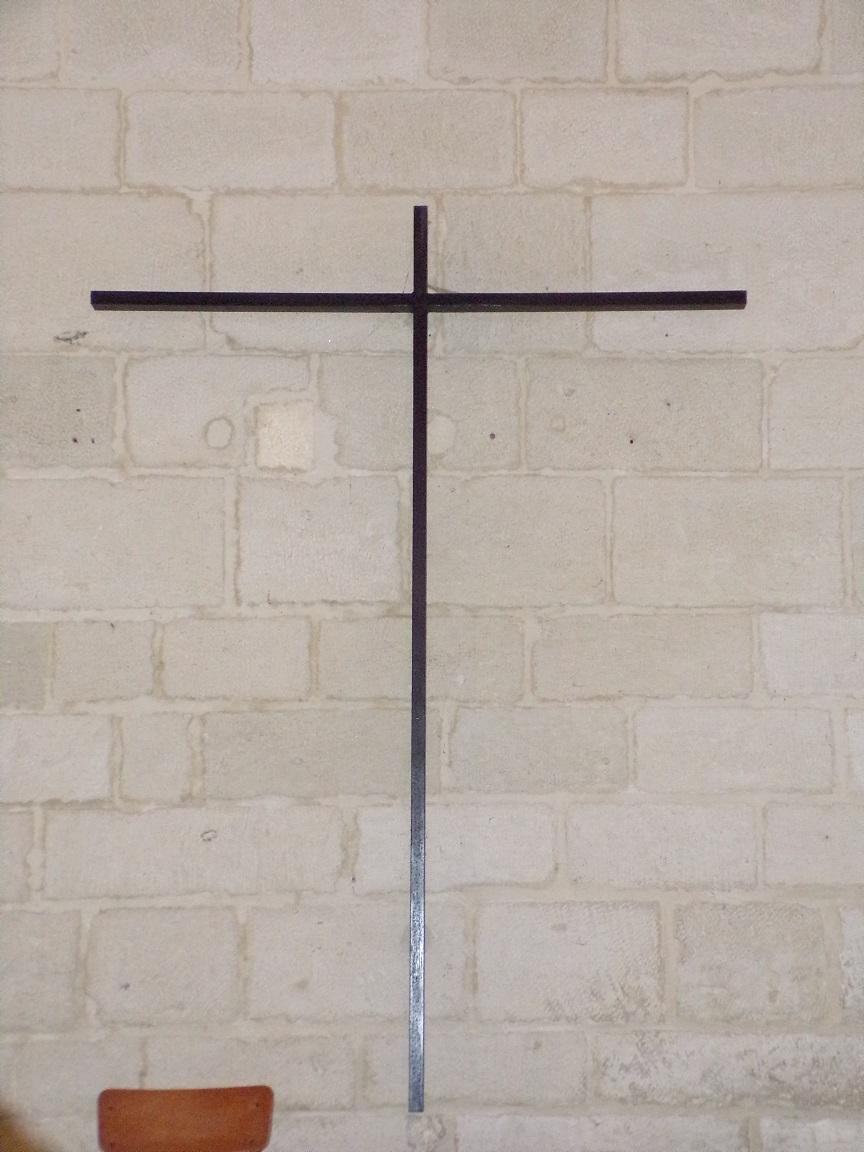 Merpins - L'église Saint-Rémy - Le Crucifix (28 mai 2018)