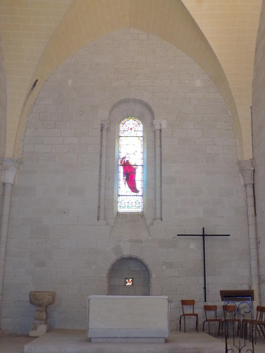 Merpins - L'église Saint-Rémy - Le choeur (28 mai 2018)