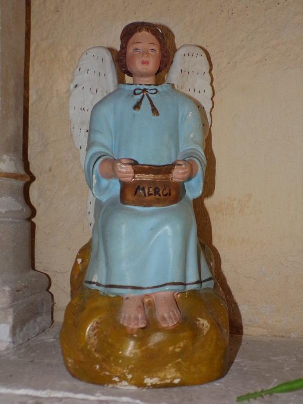 Mesnac - L'église Saint-Pierre - Un ange (16 septembre 2018)