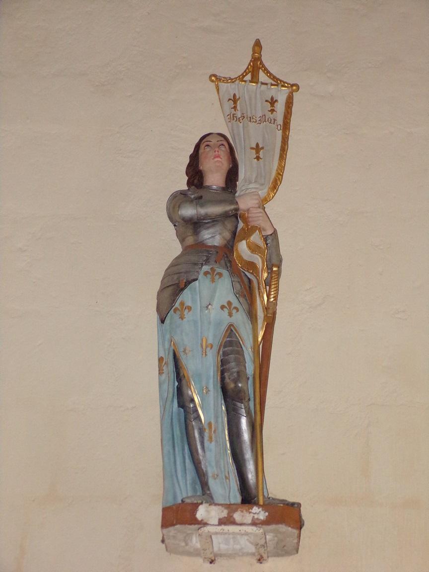 Mesnac - L'église Saint-Pierre - Saint Jeanne d'Arc (16 septembre 2018)