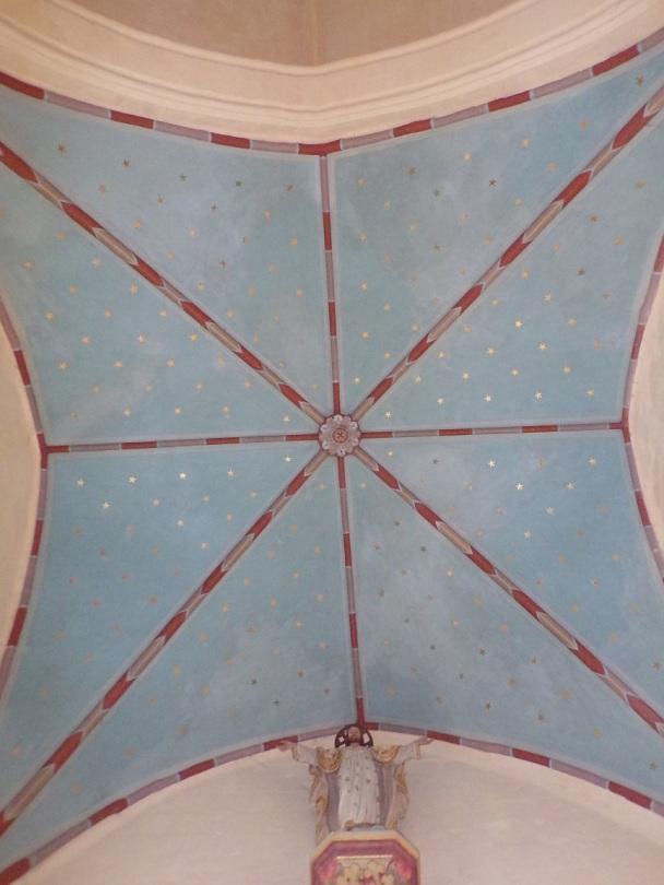 Mesnac - L'église Saint-Pierre - Le plafond (16 septembre 2018)