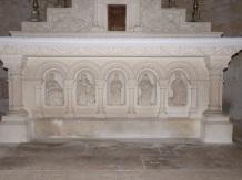 Migron - L'église Saint-Nazaire - L'abside (19 juin 2018)