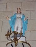Montils - L'église Saint-Sulpice - Vierge Marie (25 juin 2018)