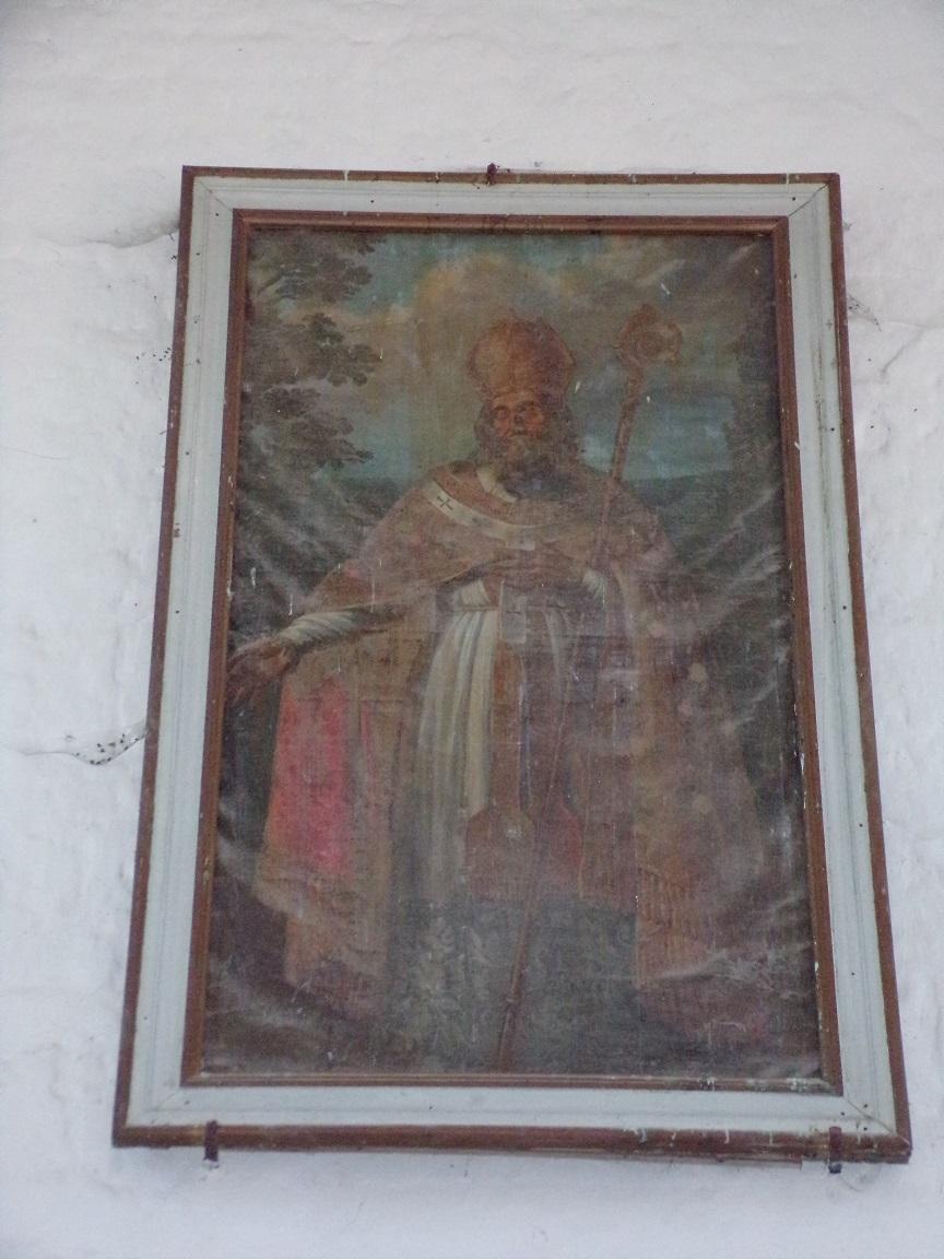 Montils - L'église Saint-Sulpice - Un tableau (25 juin 2018)