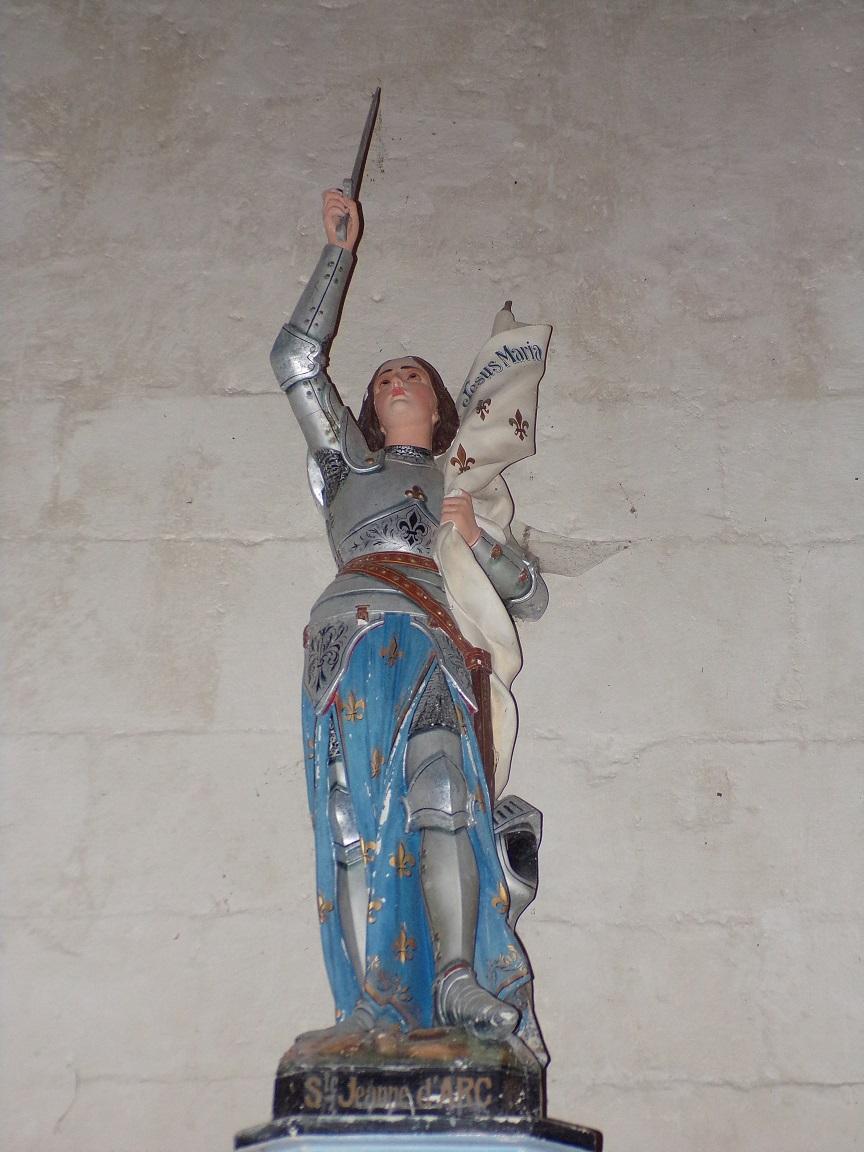 Neuvicq-le-Château - L'église Saint-Martin - Sainte Jeanne d'Arc (16 septembre 2018)