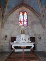 Neuvicq-le-Château - L'église Saint-Martin - Le Choeur (16 septembre 2018)