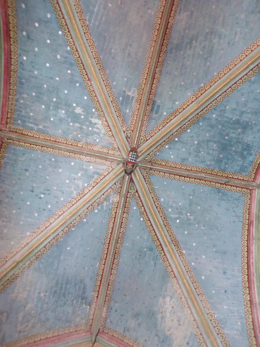 Neuvicq-le-Château - L'église Saint-Martin - Le plafond (16 septembre 2018)
