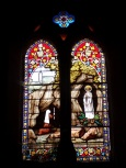Neuvicq-le-Château - L'église Saint-Martin - Les vitraux 'Auxilium pecca torum salus infirmorum' (16 septembre 2018)