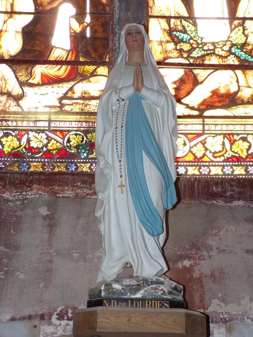 Neuvicq-le-Château - L'église Saint-Martin - Notre Dame de Lourdes (16 septembre 2018)