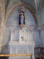 Neuvicq-le-Château - L'église Saint-Martin - La chapelle 'Vierge Marie et l'Enfant' (16 septembre 2018)