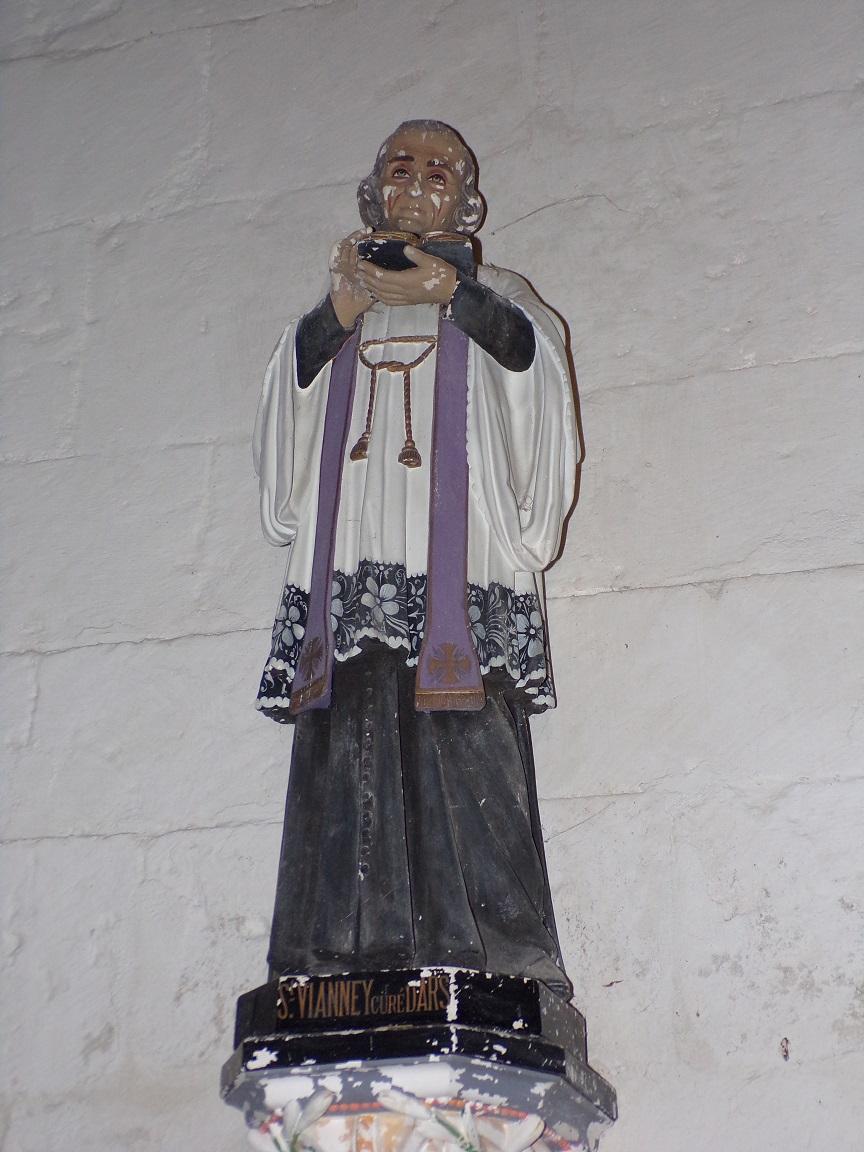 Neuvicq-le-Château - L'église Saint-Martin - Saint Vianney curé d'Ars (16 septembre 2018)
