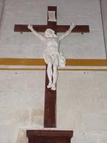 Pérignac - L'église Saint-Pierre - Le Crucifix (25 juin 2018)
