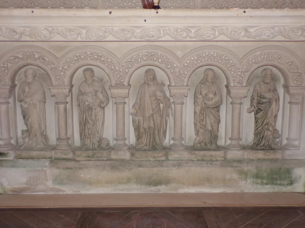 Pérignac - L'église Saint-Pierre - L'abside (25 juin 2018)