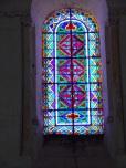 Pérignac - L'église Saint-Pierre - Un vitrail (25 juin 2018)