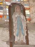 Plaizac - L'église Saint-Hippolyte - Vierge Marie (21 août 2018)