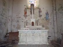 Plaizac - L'église Saint-Hippolyte - L'abside (21 août 2018)