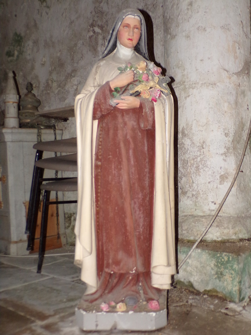 Plaizac - L'église Saint-Hippolyte - Sainte Thérèse de Lisieux (21 août 2018)