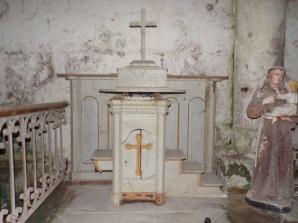 Plaizac - L'église Saint-Hippolyte - La chapelle 'Saint Antoine de Padoue' (21 août 2018)
