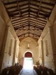 Plaizac - L'église Saint-Hippolyte - Vue de l'autel (21 août 2018)