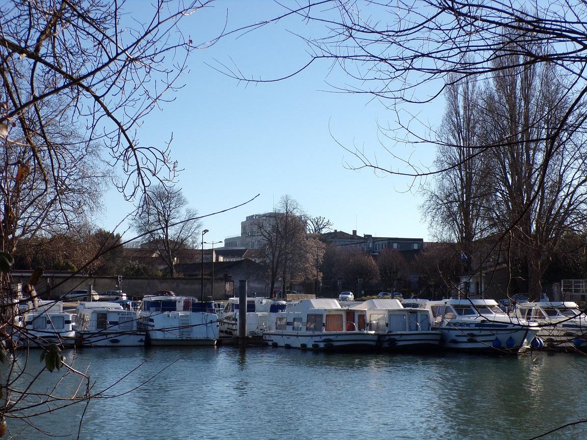Quai des Flamands - Le port (19 janvier 2021)