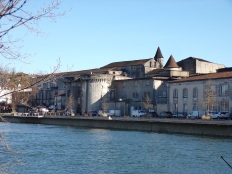 Rampe du Château - Château de Cognac (19 janvier 2021)