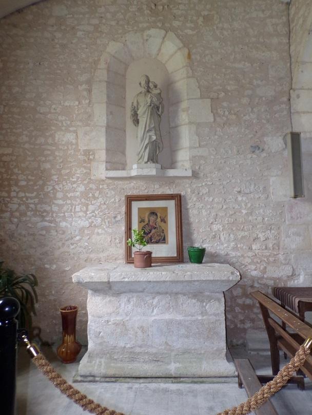 Rouffiac - L'église Saint-Vivien - Une chapelle (17 juillet 2018)