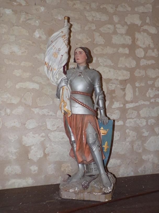 Rouffiac - L'église Saint-Vivien - Sainte Jeanne d'Arc (17 juillet 2018)