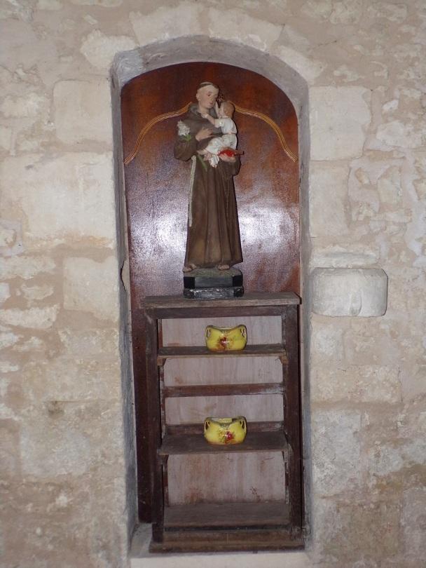 Rouffiac - L'église Saint-Vivien - Saint Antoine de Padoue (17 juillet 2018)