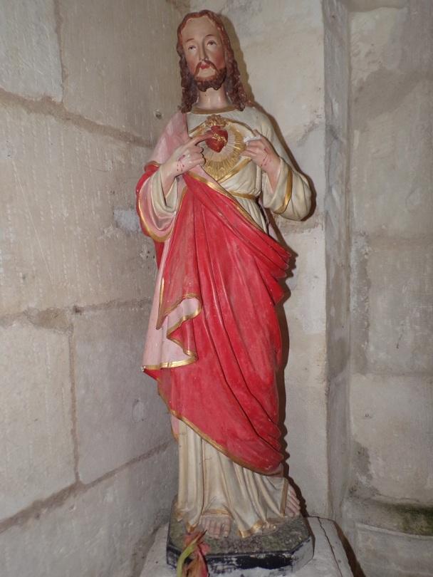 Rouffiac - L'église Saint-Vivien - Sacré Coeur de Jésus (17 juillet 2018)