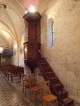 Saint-Brice - L'église Saint-Brice - La chaire (25 juillet 2018)