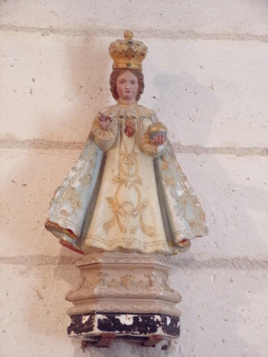 Saint-Brice - L'église Saint-Brice - L'Enfant Jésus (25 juillet 2018)