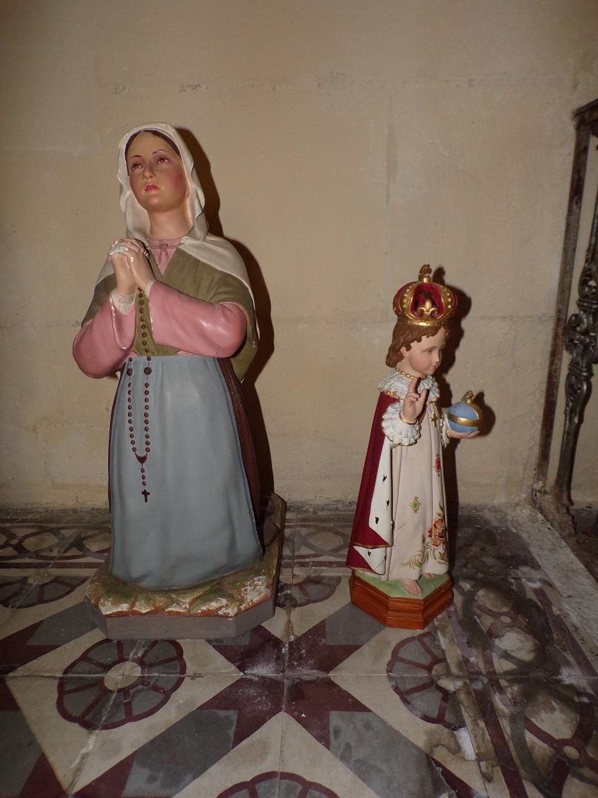 Saint-Laurent de Cognac - L'église Saint-Laurent - Sainte Bernadette et L'Enfant Jésus (31 mai 2018)
