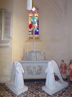 Saint-Laurent de Cognac - L'église Saint-Laurent - La chapelle (31 mai 2018)