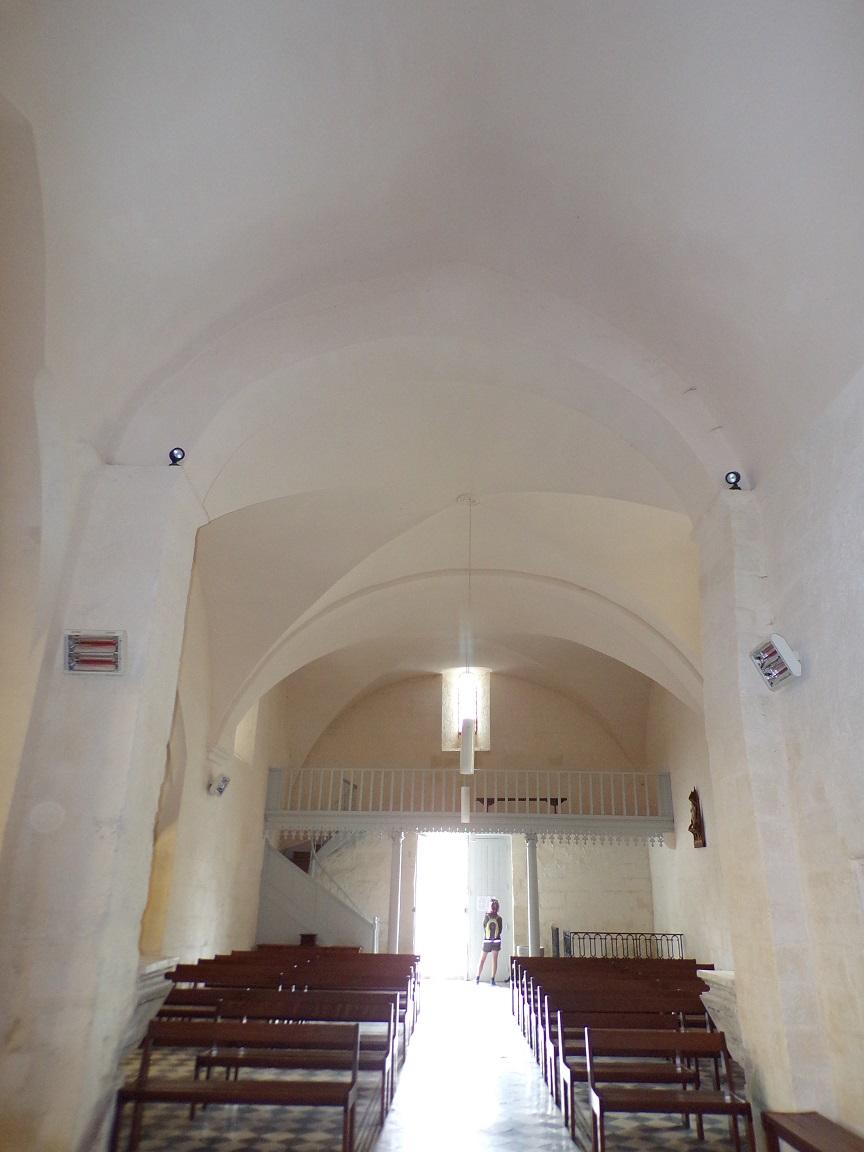Saint-Laurent de Cognac - L'église Saint-Laurent - Vue de l'autel (31 mai 2018)